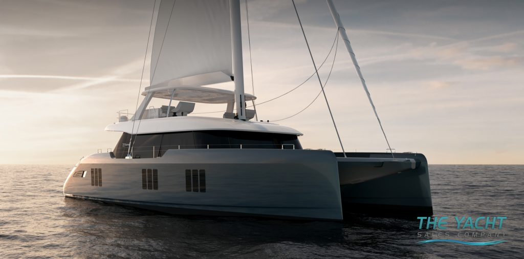 Sunreef 70 Sailing Package Exterior Renders - The Yacht Sales Company